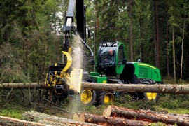Forestry / logging vehicle