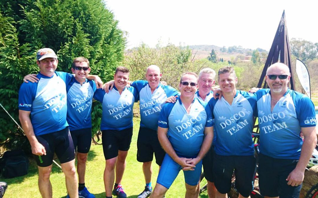 DOSCO's first SAFPA Cycle Race joined by other DOSCO Employees
