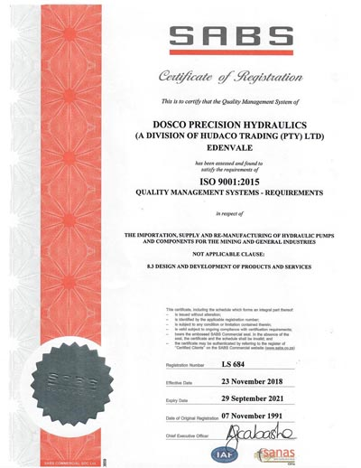 ISO9001 certificate thumbnail